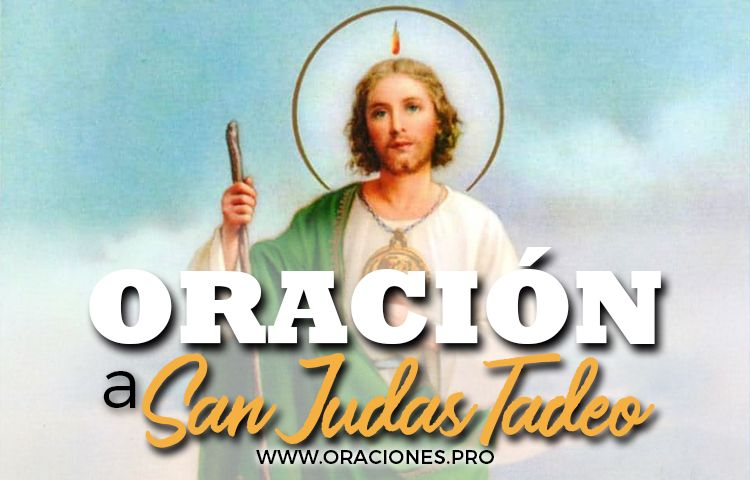 oracion a san judas tadeo