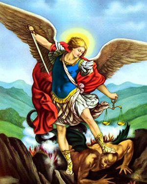san miguel arcangel oracion
