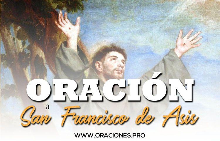 oracion a san francisco de asis