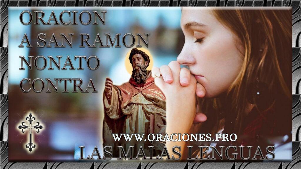 Oración A San Ramon Nonato Contra Las Malas Lenguas