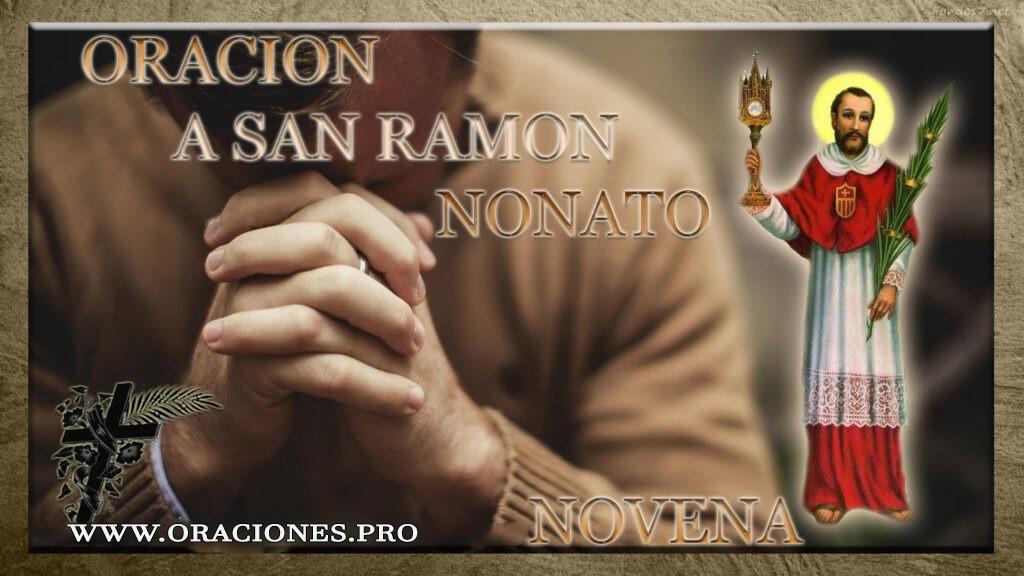 Oración A San Ramon Nonato Novena