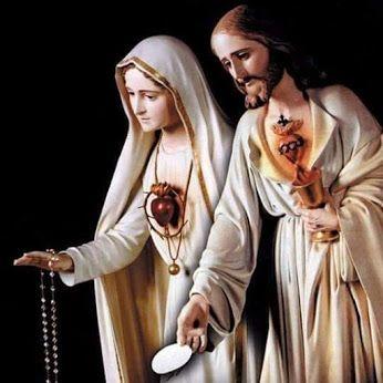 Jesús y María siempre estarán para ti