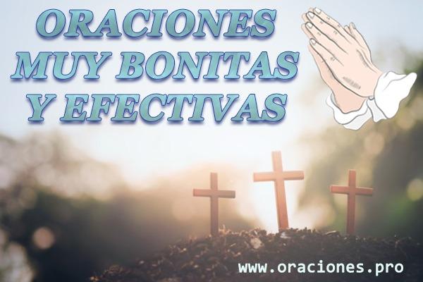 Oraciones muy bonitas y efectivas